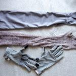 夏の手袋とアームカバー