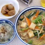 煮物とジャガイモの芽