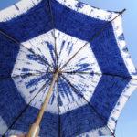 絞りの日傘