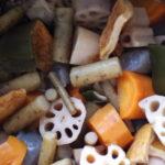 食物繊維たっぷり〜根菜の煮物