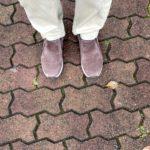 ジャングルモック2.0で濡れた歩道を歩いてみた